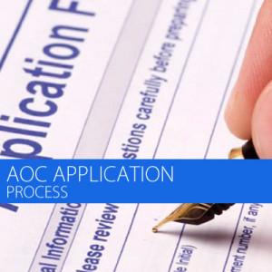 Aoc application process